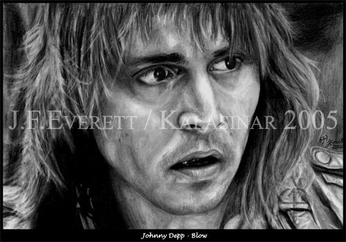 Johnny Depp par Kalasinar